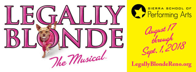 Family Fun Night! Legally Blonde the Musical