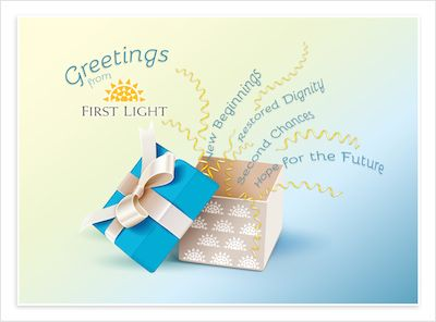 Honor of greeting card