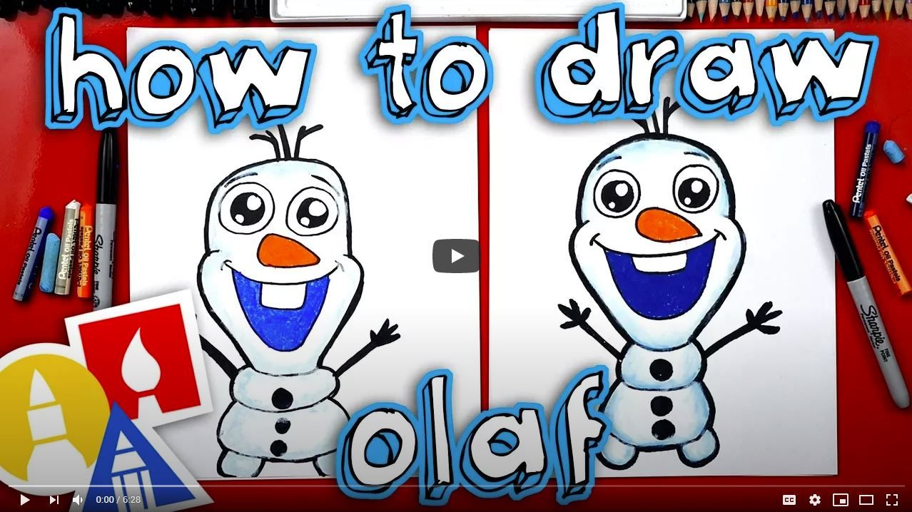 """Draw Olaf from """"Frozen"""""""