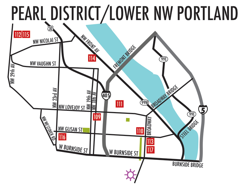 Pearl District / Lower NW Portland