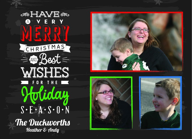 Holiday Card Template D