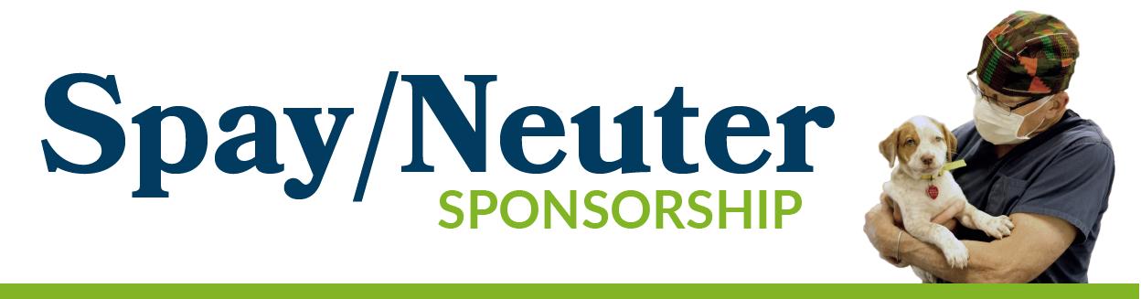 Spay/Neuter Sponsorship - DOGS