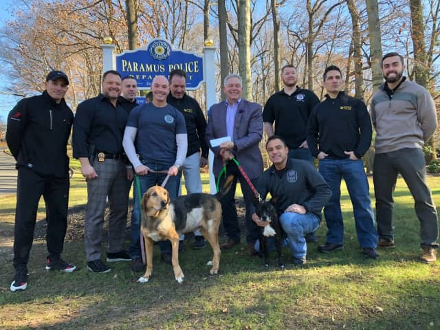 Paramus PBA Donates $3G To Ramapo Bergen Animal Refuge