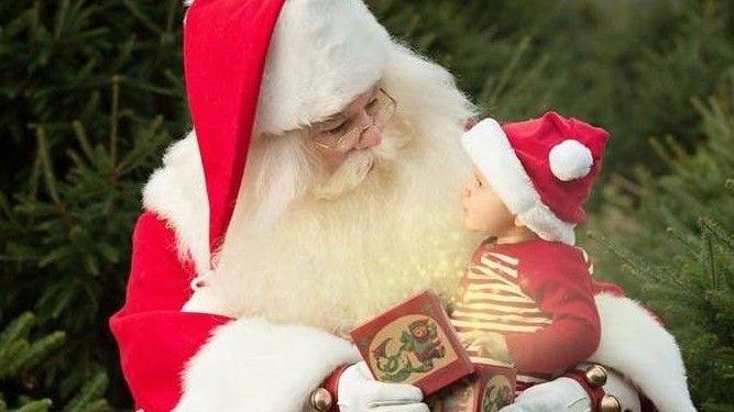Audubon Annual Tree Sale and Photos with Santa