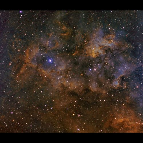 SH2-165 Clouds of Cygnus