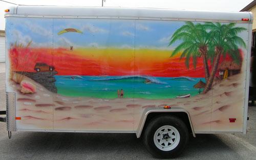 Den's Trailer-Beach Side