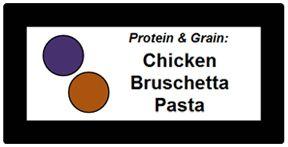 EZ tag school food label for serving line marketing, custom signs, menu board support