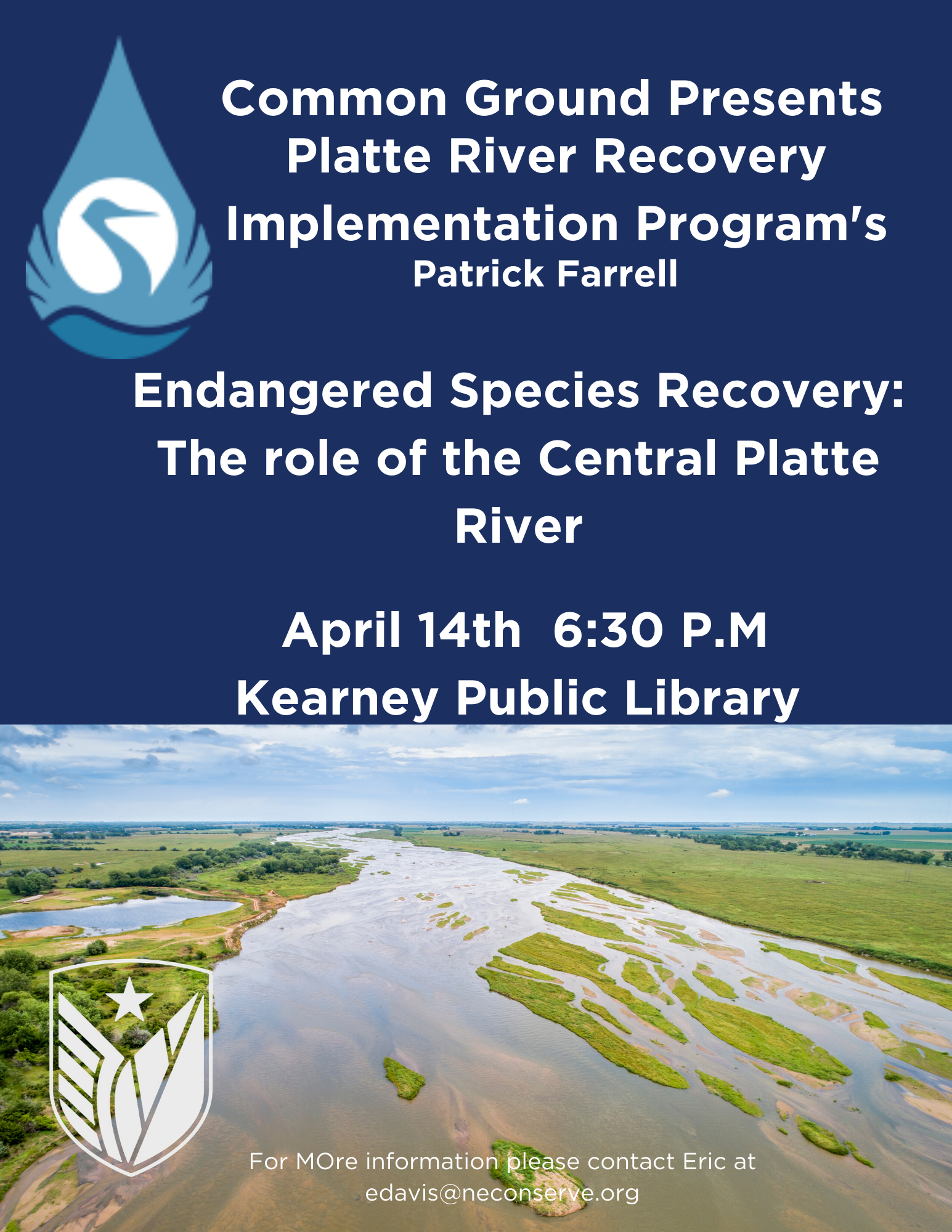 CE: PRIP Endangered Species Recovery Talk