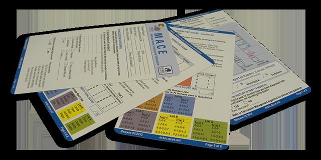 MACE 4-Card Set