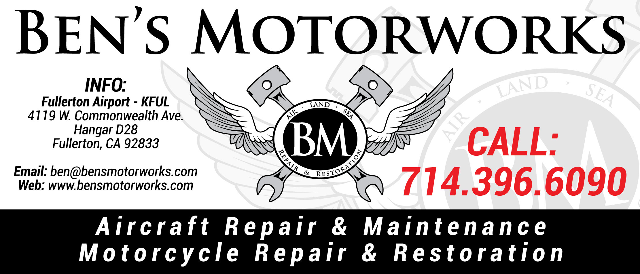 Mechanic Shop Banner