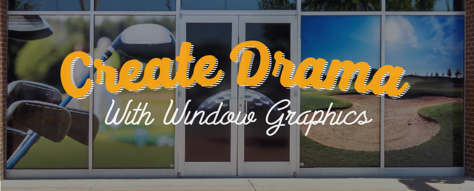 Augusta mall Golf Window Graphics
