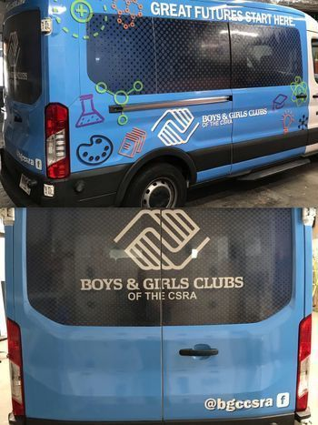 Boys & Girls Club Van
