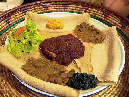 Enchanting Ethiopian Eating