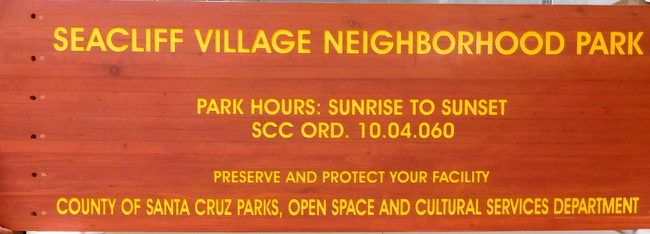 SM28 - Redwood Neighborhood Park Sign (Gallery 16A)