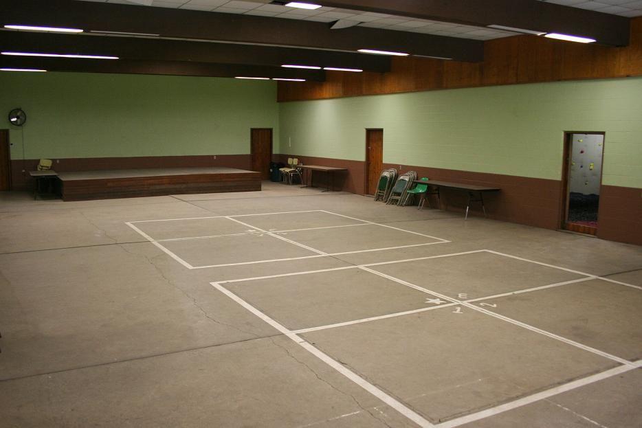 Rec Building Interior I