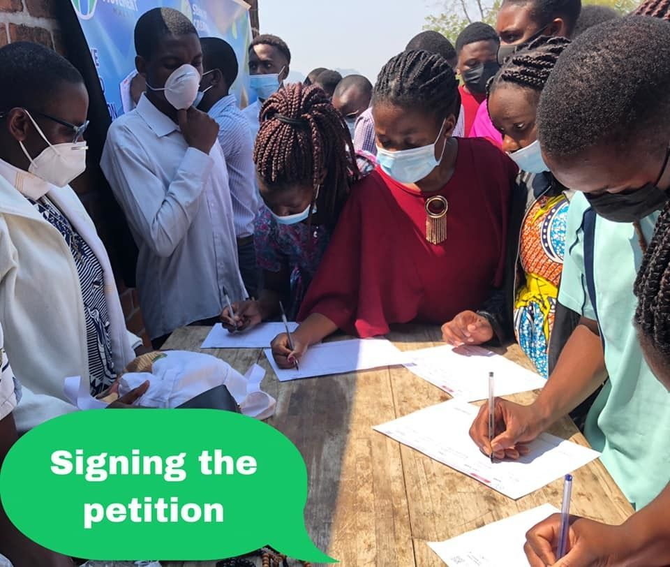 Celebrating the 1st Sunday of the Season of Creation with Petition Signing