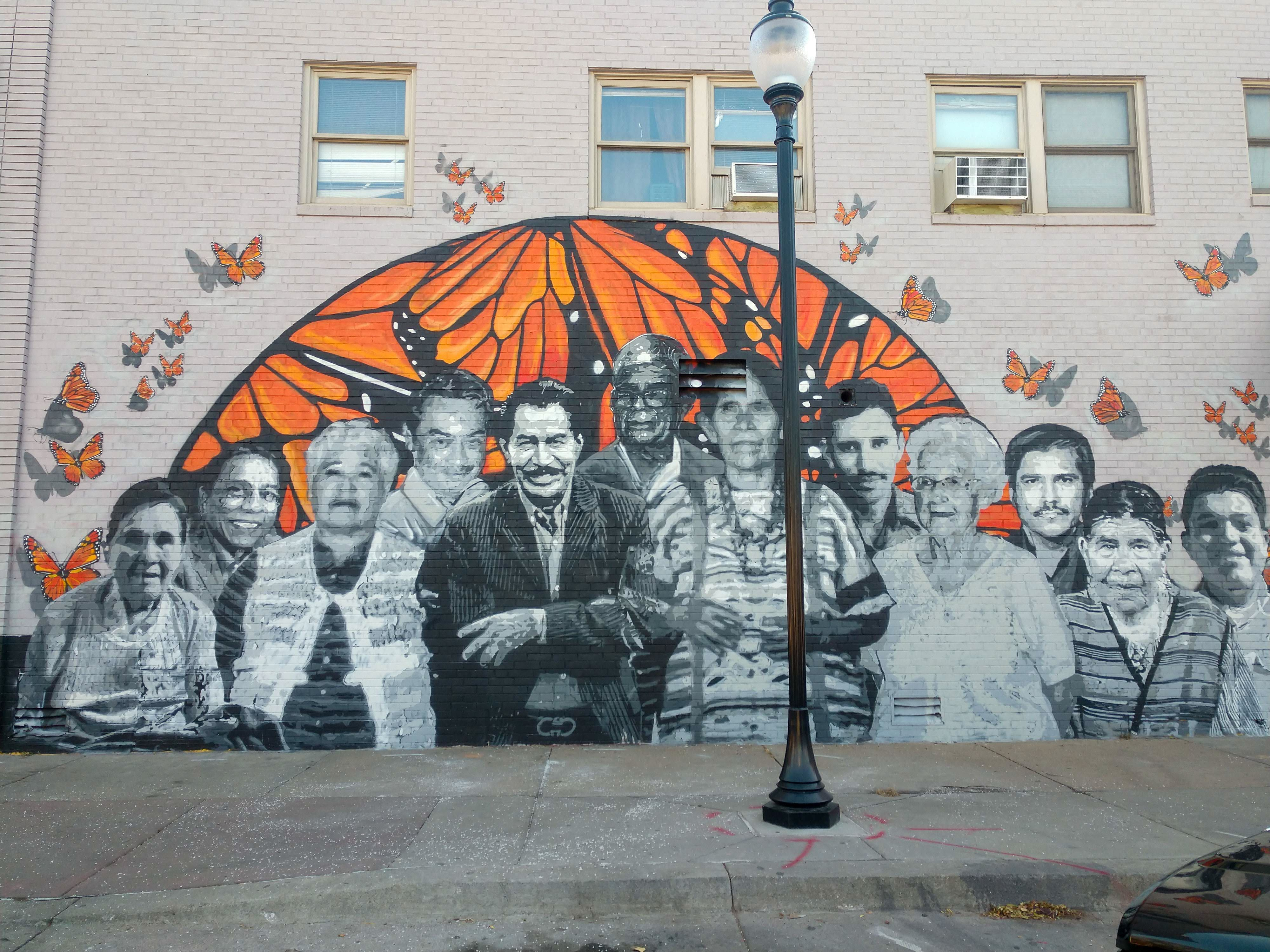 The Community Turns Out to Support a Mural About our Ancestors