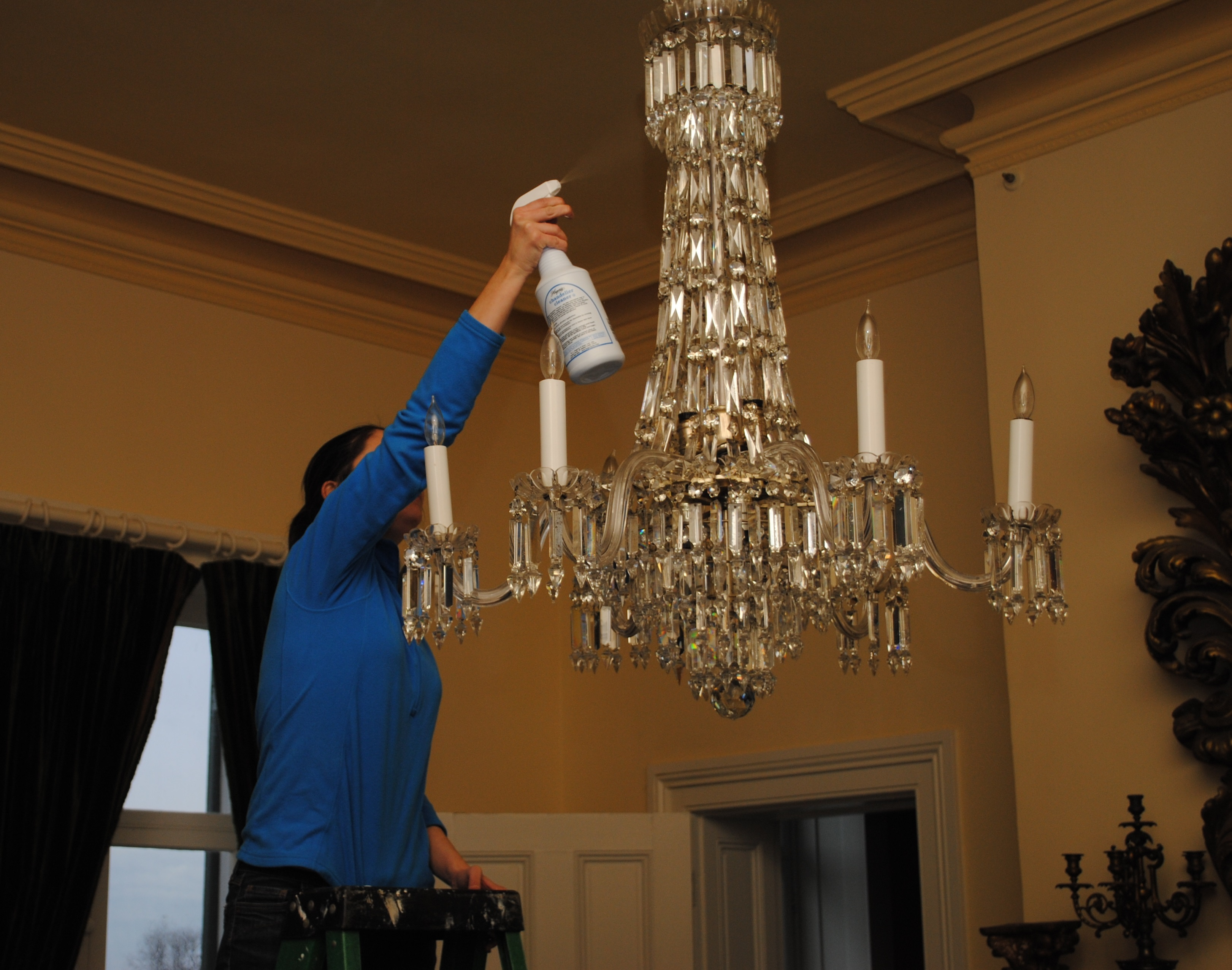 Dusting, vacuuming, polishing – it takes a lot to keep the Morven Park Davis Mansion sparkling. Your $25 donation will help pay for the specialty cleaning products needed to ensure the long-term survival of Marguerite's eclectic collection.