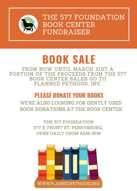 577 Foundation Book Sale
