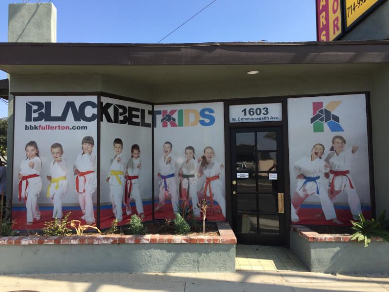Perforated Window Graphics | Orange County CA