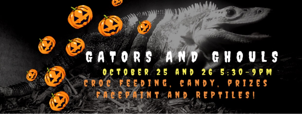 Gators and Ghouls ~ Halloween Event