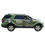 Add your web address to your vehicle with a vehicle wrap