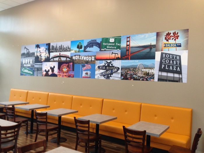 Restaurant Wall Graphics