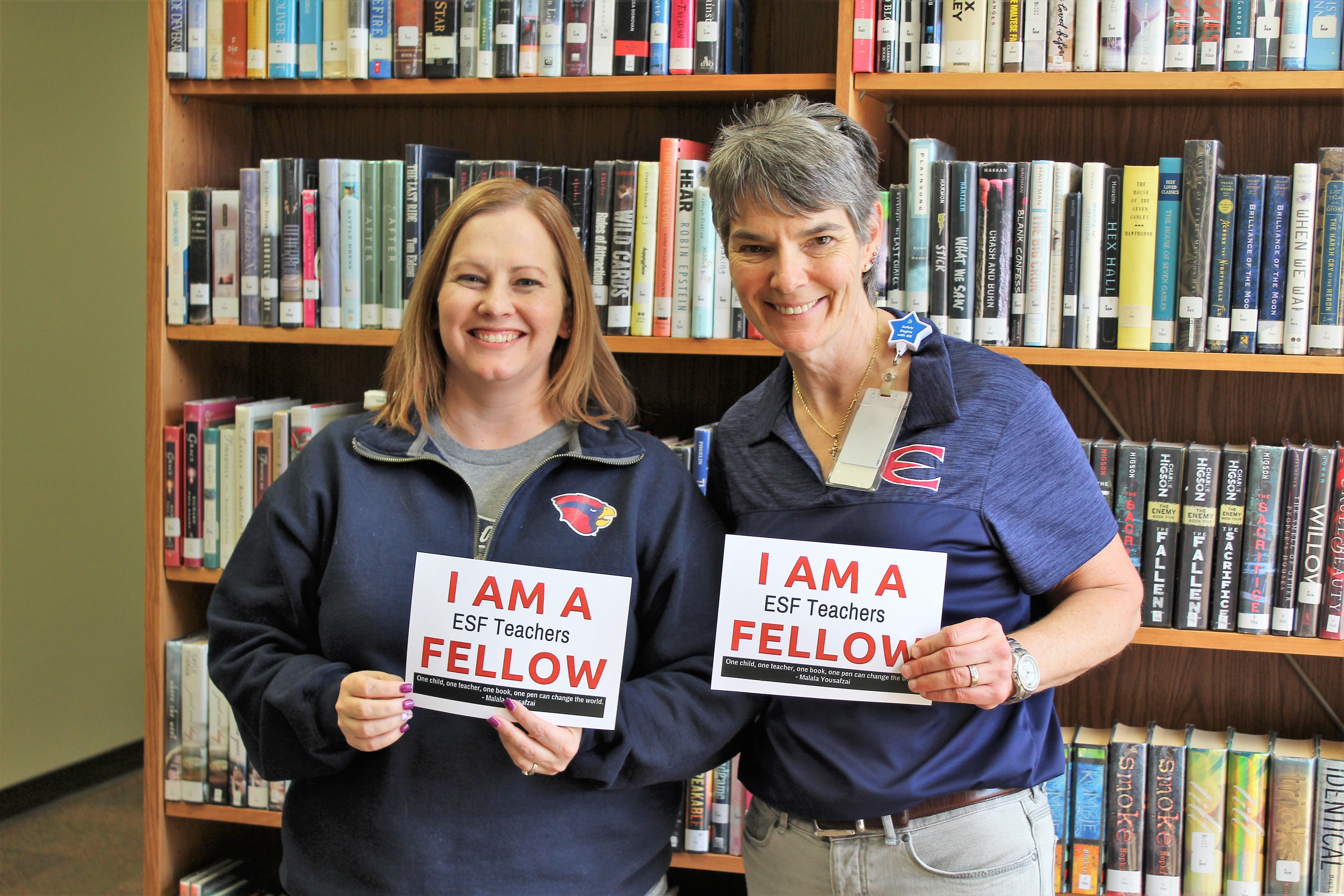 2019-2020 ESF Teacher Fellows Announced