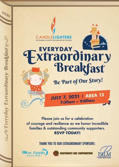 Everyday Extraordinary Breakfast Evite