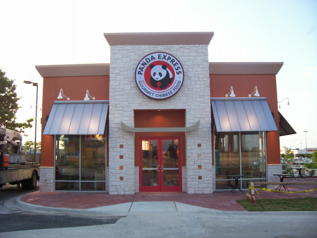 Panda Express- Manufacture & Installation