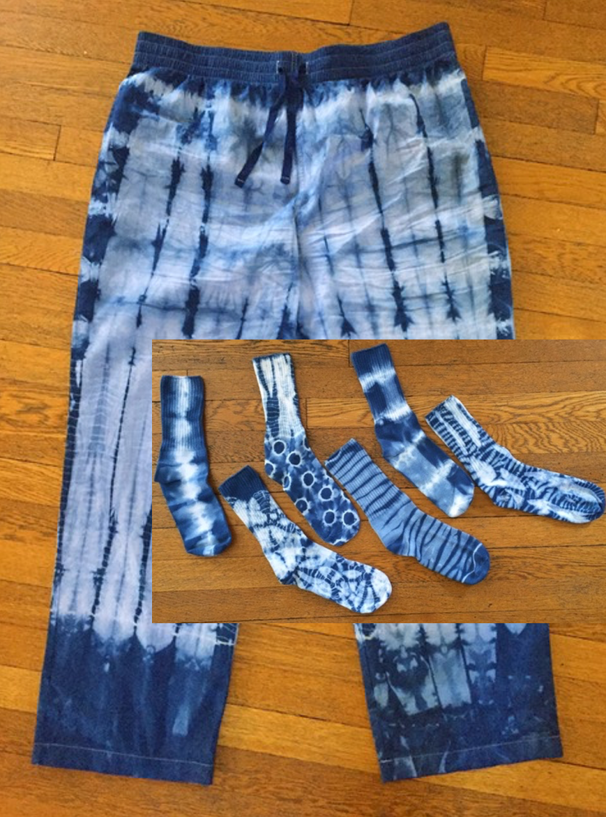 Shibori Socks & PJs