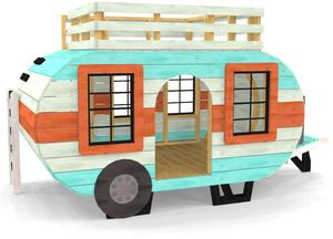 Habitat Builds Camper Playhouse for Holiday Raffle