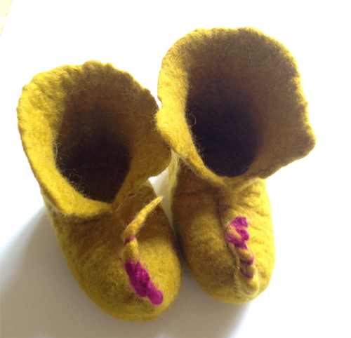 Adult Class: Felted Baby Booties