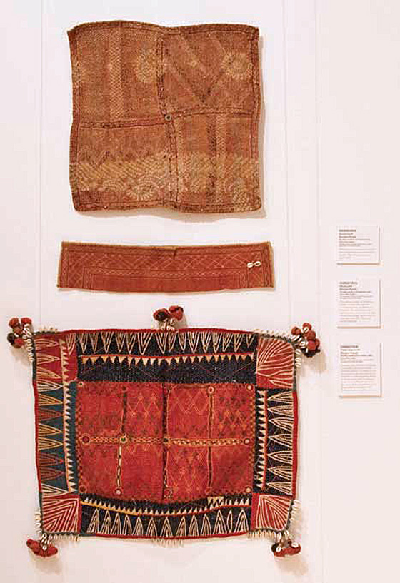 Textile accessories from Karnataka, India