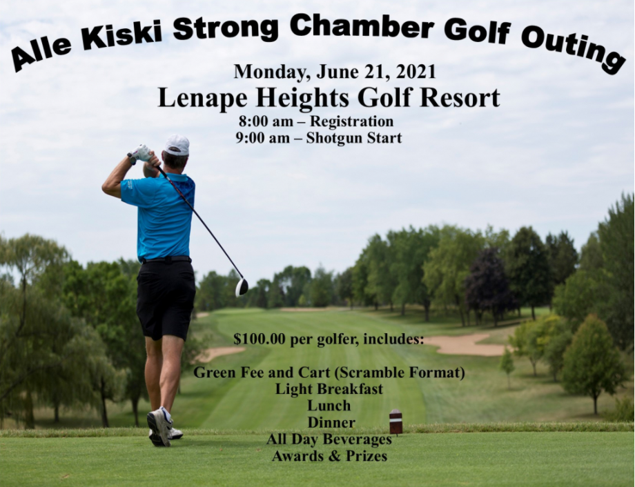 Alle Kiski Strong Chamber Golf Outing