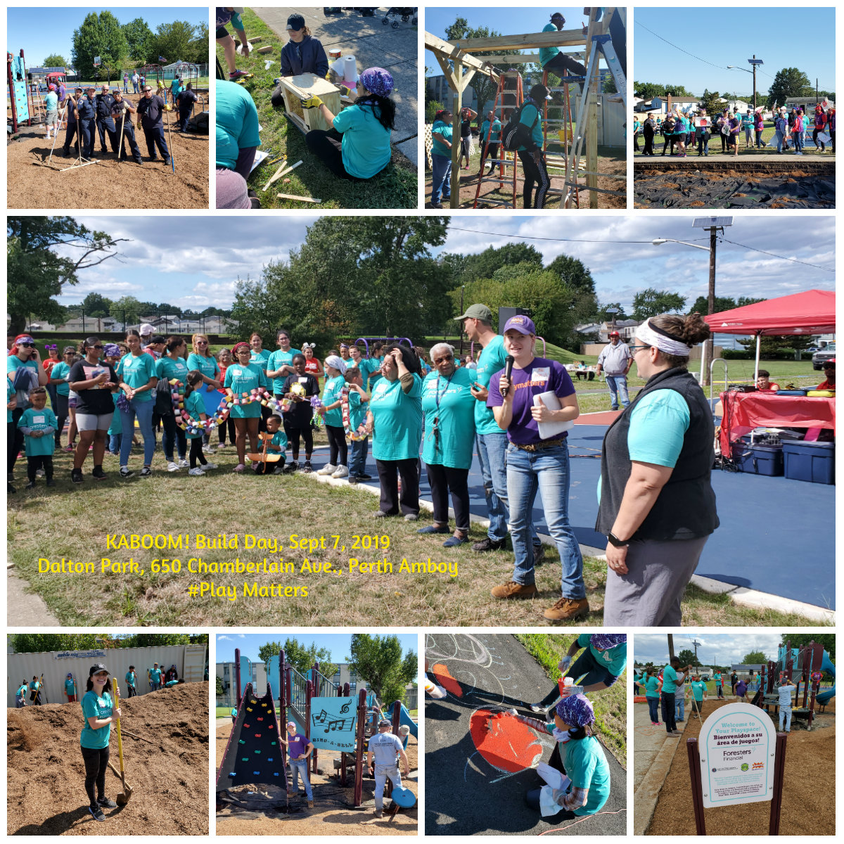 KABOOM! Build Day September 2019