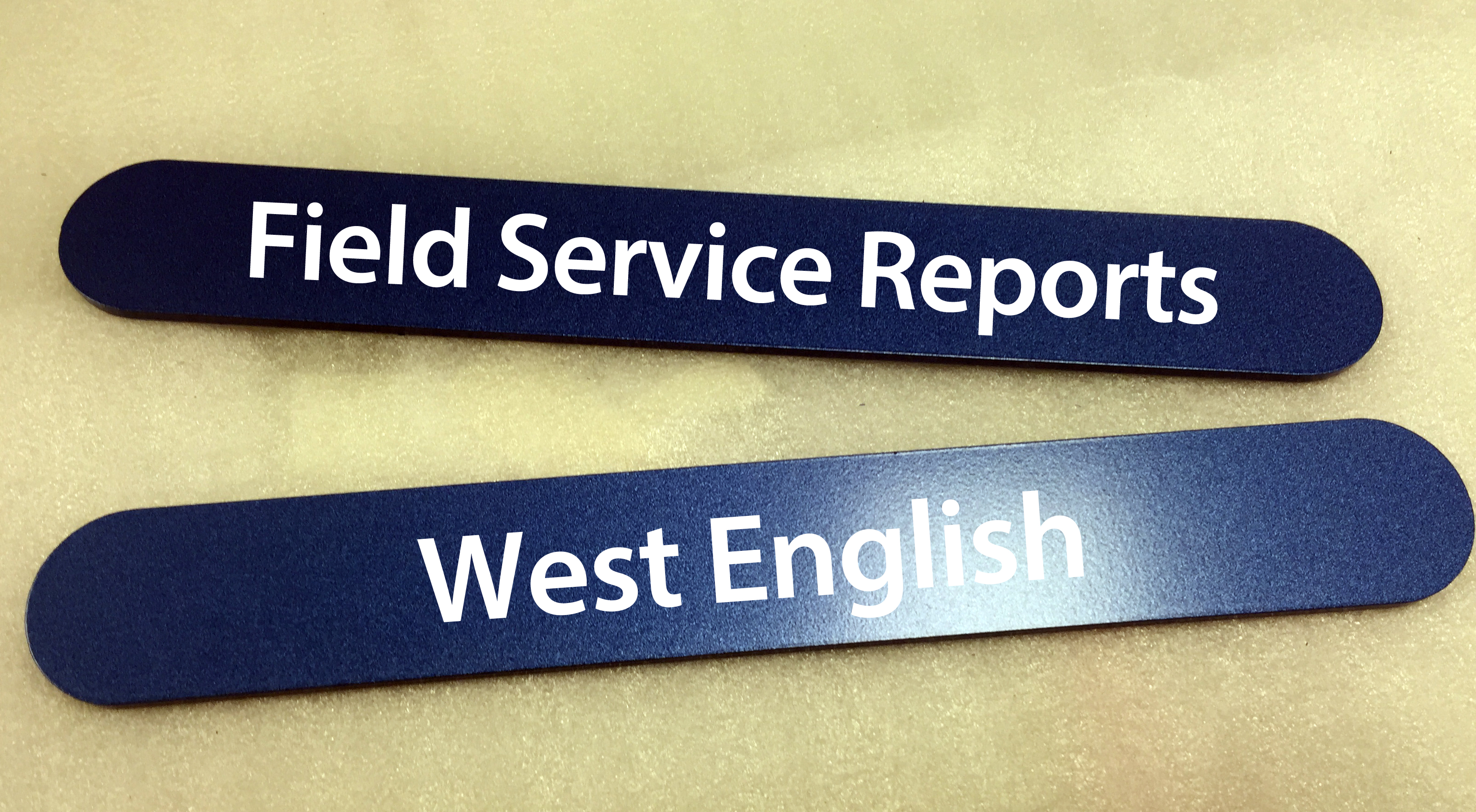 Congregation Name Strip Sign- Limited Quantities