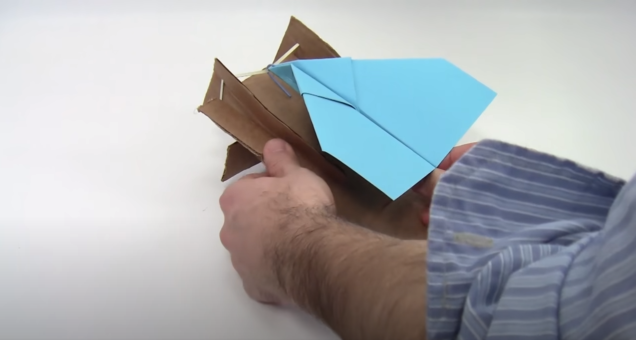Paper Airplane Launcher