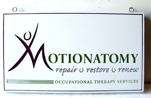 B11232 - Engraved Wooden Sign for Occupational Therapy