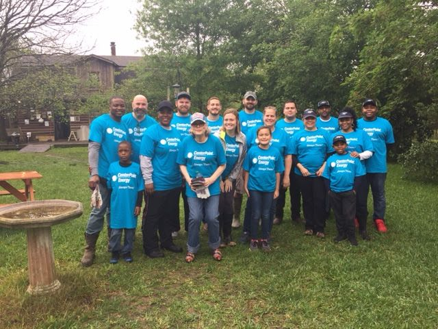 CenterPoint Energy Workday at Sims