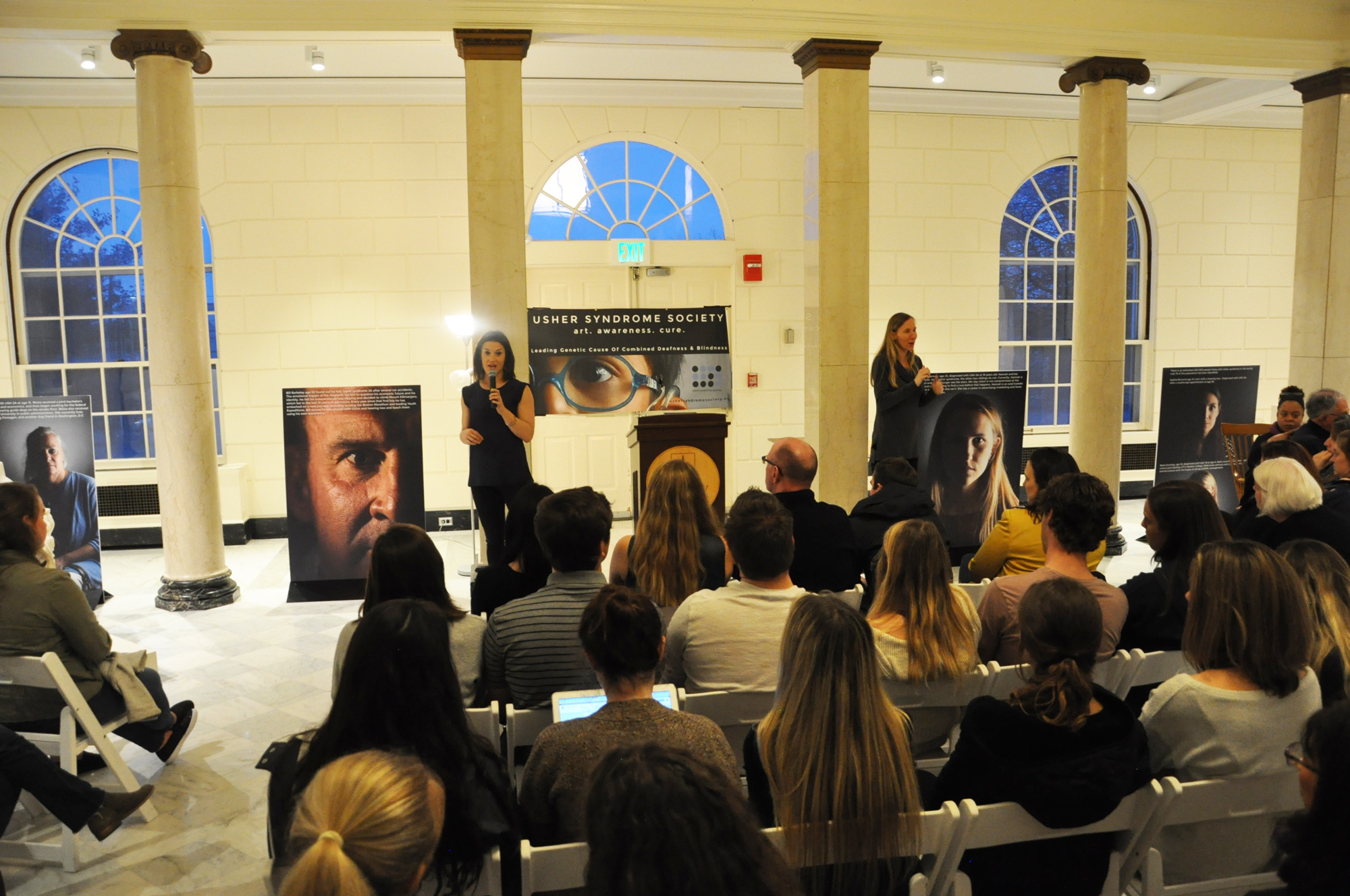 Rebecca Alexander Speaks at University of Vermont