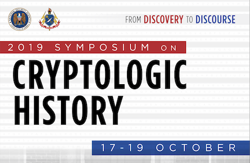 2019 Symposium on Cryptologic History - Get info & register now.