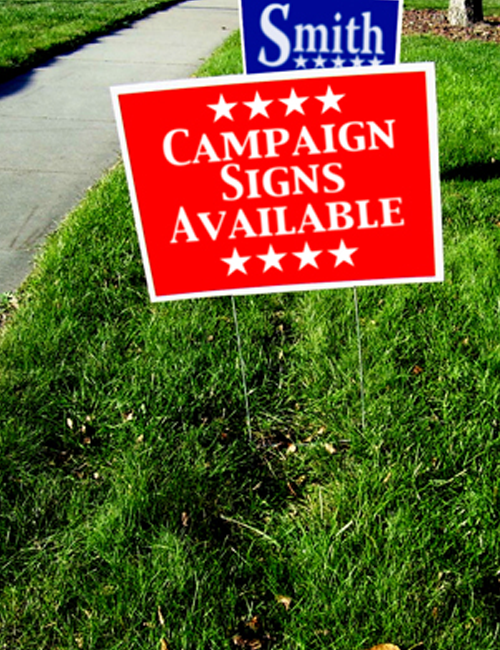 Yard Signs | Full Color | 2-Sided