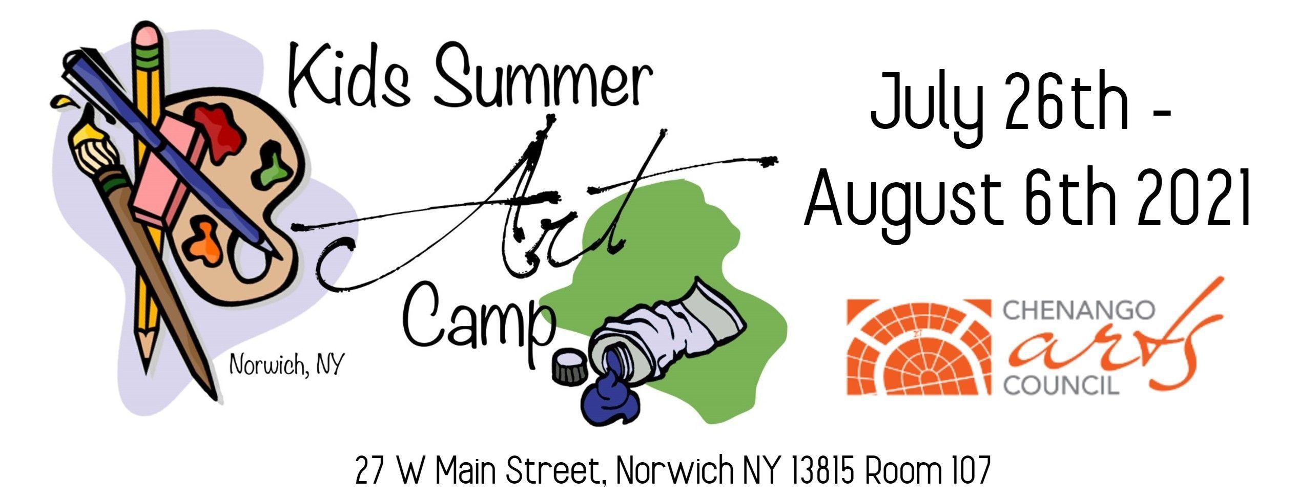 Kids Summer Art Camp is Back!