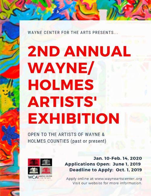 Wayne/Holmes Artists' Exhibition Reception
