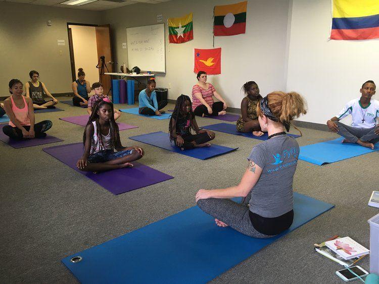 Meet our Neighbor: FlyKids Yoga