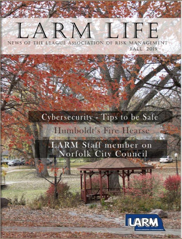 LARM Life Fall 2019 Magazine available
