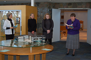 Welcome Postulants Marena Hoogland and Mary Ruth Kayute! God bless you!