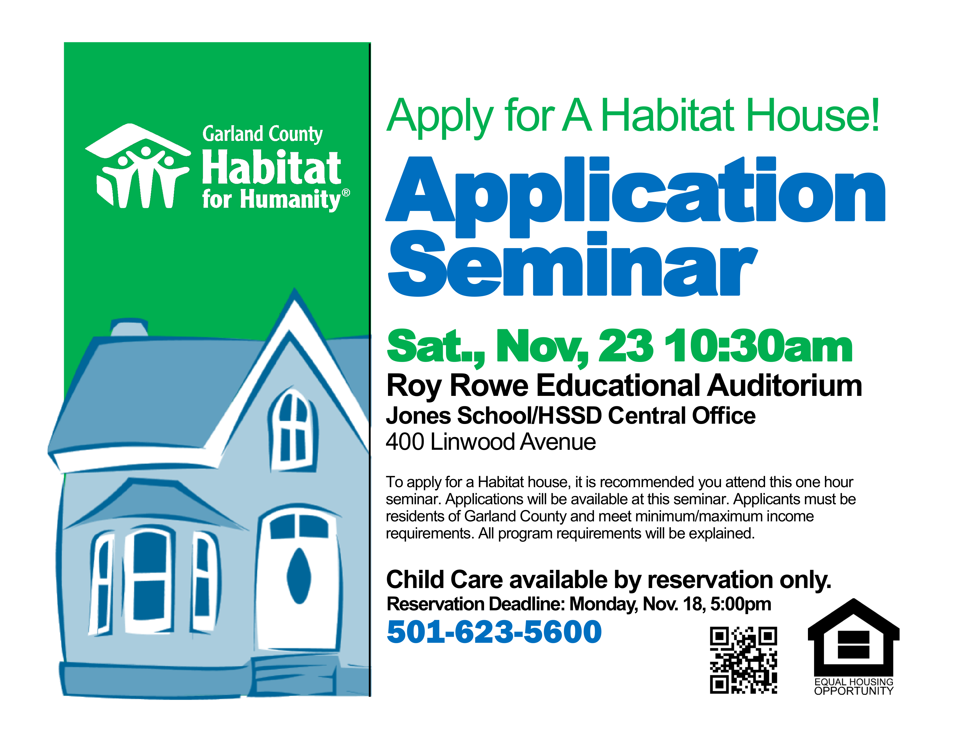 November 23, 2019 Application Seminar