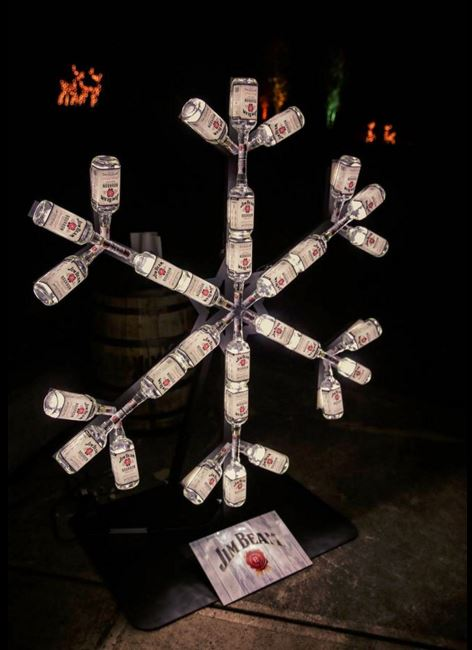 Jim Beam Snowflake